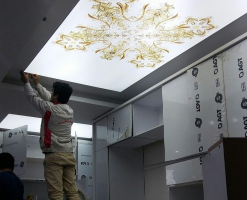 Virtual ceiling1 495x400 سقف مجازی