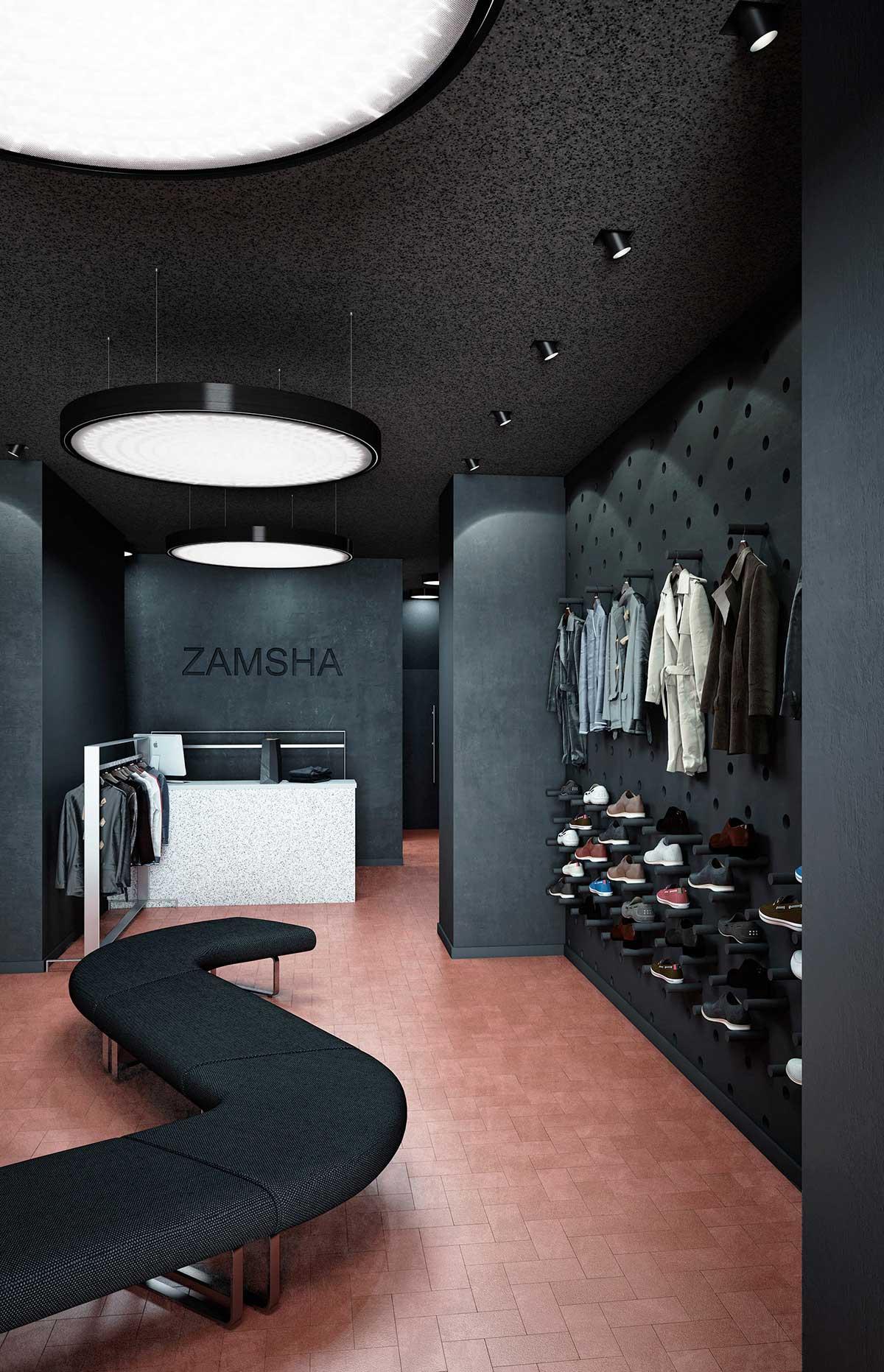 shop decoration3 طراحی دکوراسیون مغازه