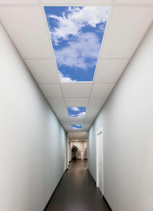 Virtual ceiling سقف مجازی