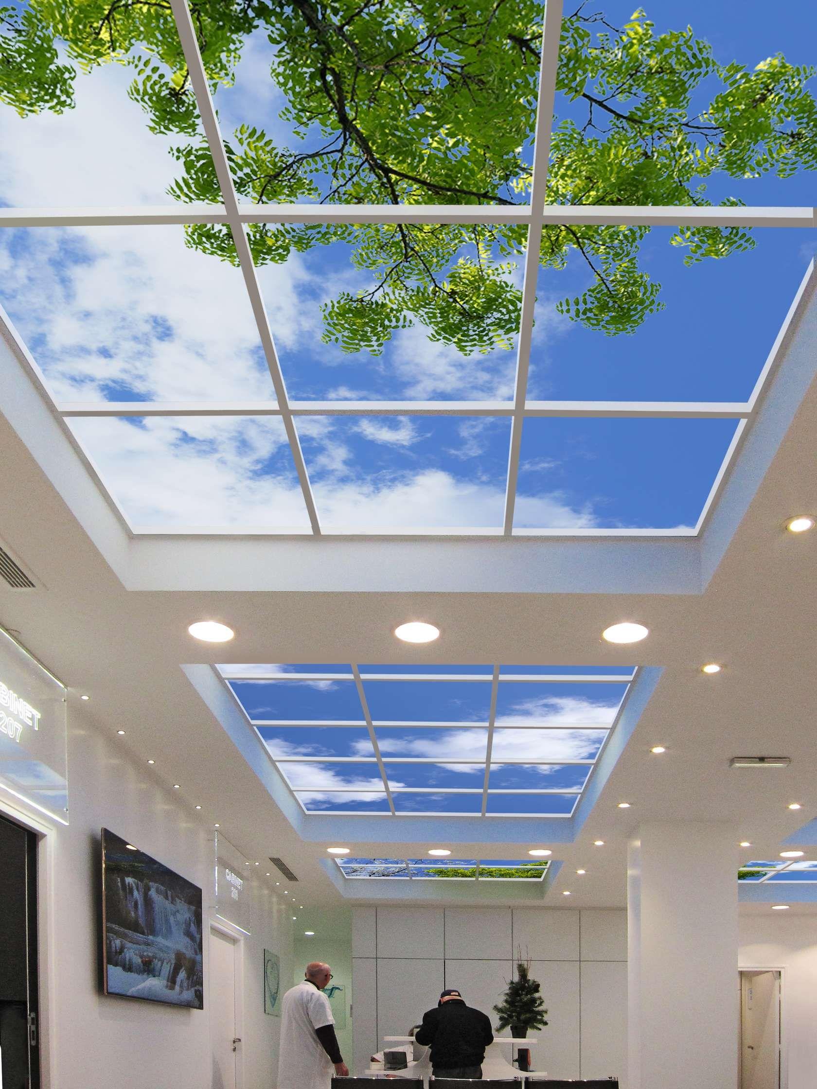 virtual sky ceiling سقف مجازی