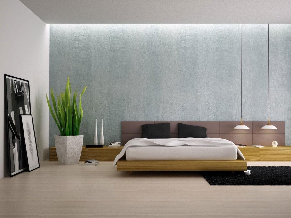 Minimal bedroom سبک مینیمال در طراحی دکوراسیون داخلی