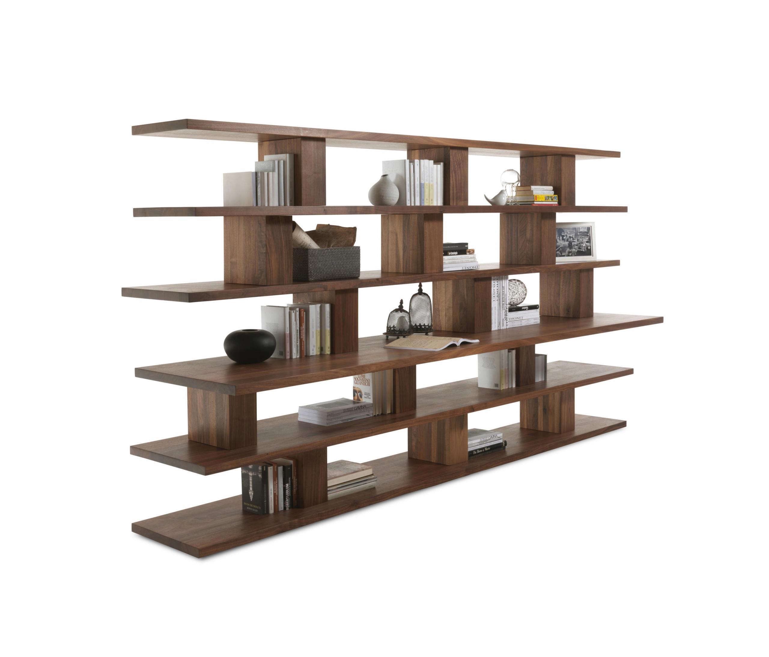 bookshelf for wall scaled طراحی کتابخانه چوبی