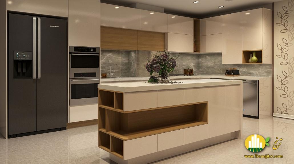 modern cabinet 1 1030x577 طراحی کابینت مدرن آشپزخانه
