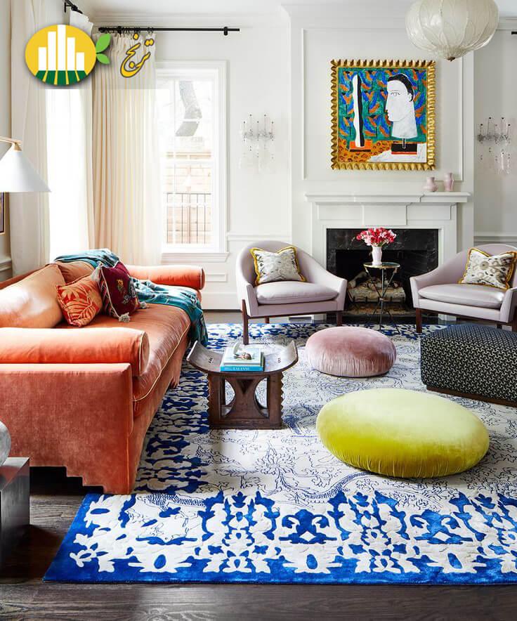 A Livable Lovely Family Home in Highland Park D Magazine 1 تاثیر رنگ بر فضای خانه