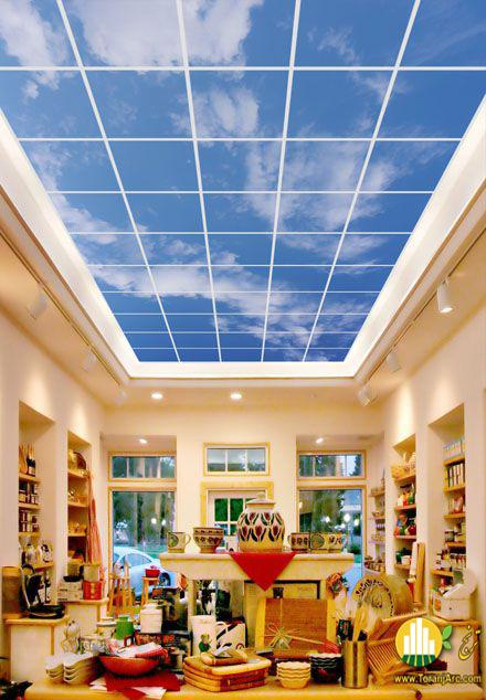 Portfolio سقف مجازی