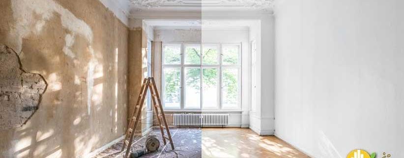 چگونه خانه قدیمی را بازسازی کنیم