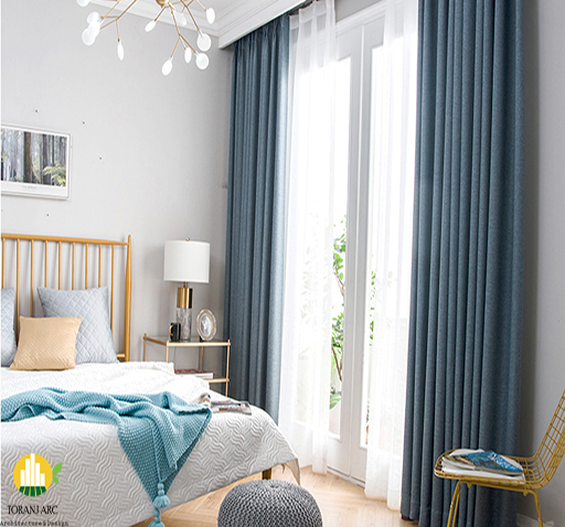 3 bedroom condo curtains نقش پرده در دکوراسیون داخلی منزل