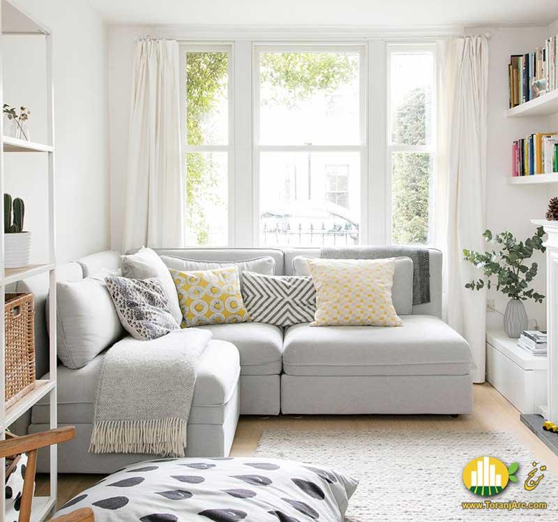 Small living room 1 دکوراسیون پذیرایی