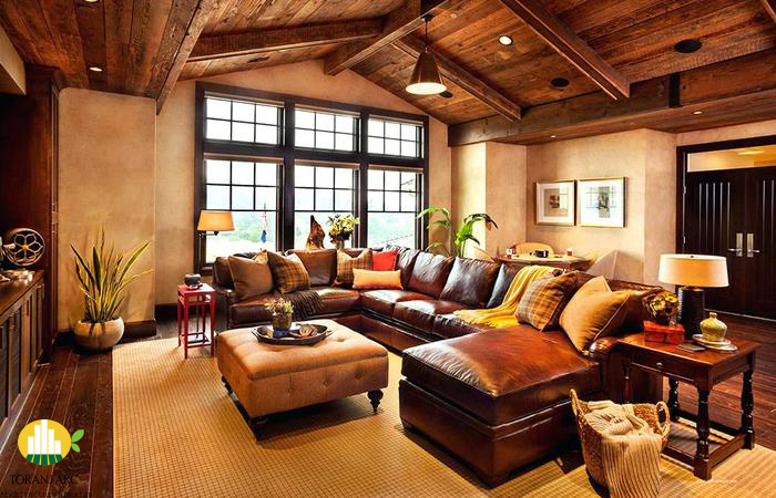 western bedroom decor style images rustic decorating ideas cowboy bedroom atmosphere ideas 700x450 1 سبک دکوراسيون غربی