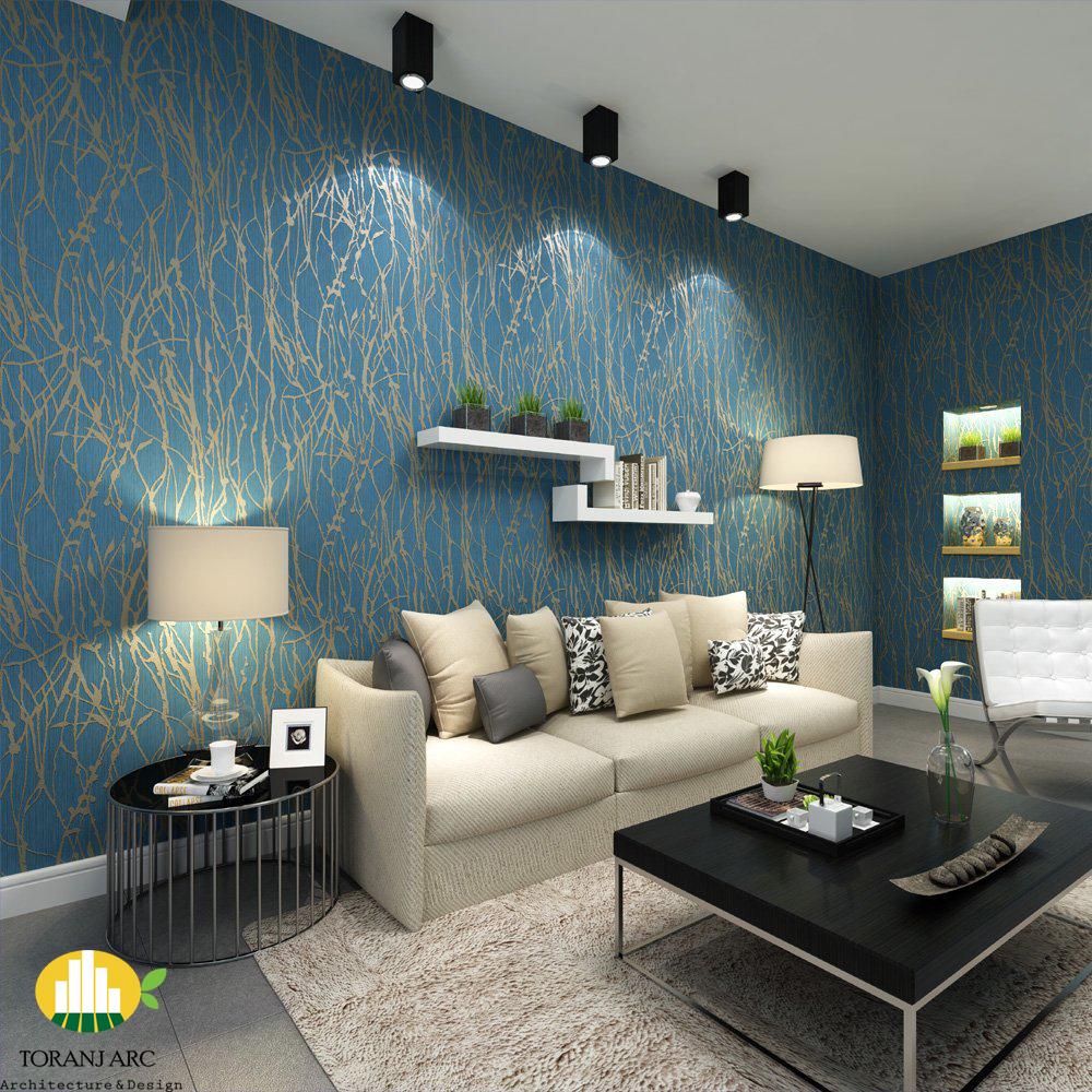 luxuriouswallpaperdesignforhome راهنمای انتخاب کاغذ دیواری