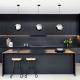 کابینت مشکی مدرن برای آشپزخانه
