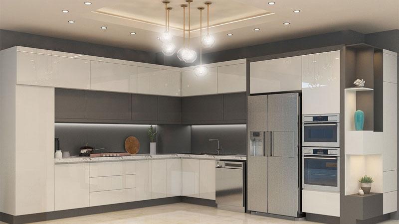 higlass modern cabinet طراحی کابینت مدرن آشپزخانه