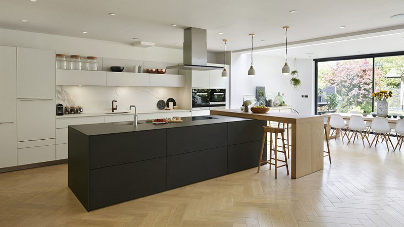 modern mdf cabinet طراحی کابینت مدرن آشپزخانه