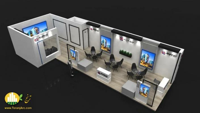 arvand 02 705x397 طراحی و ساخت غرفه های نمایشگاهی